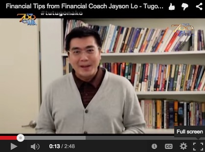 Financial Tips from Financial Coach Jayson Lo