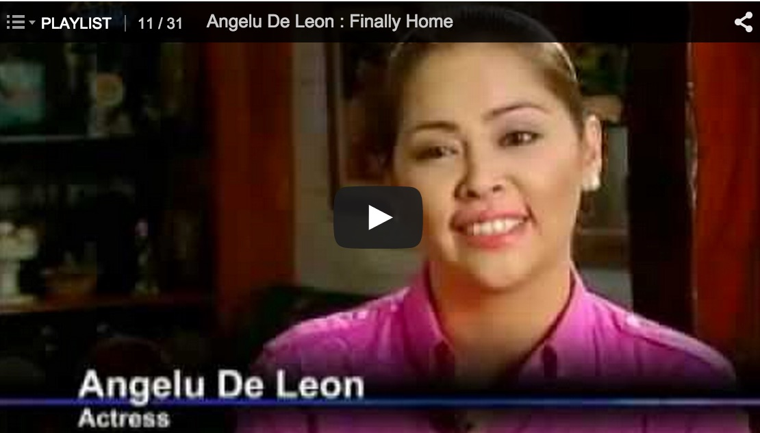 Testimony of the Day: Angelu De Leon
