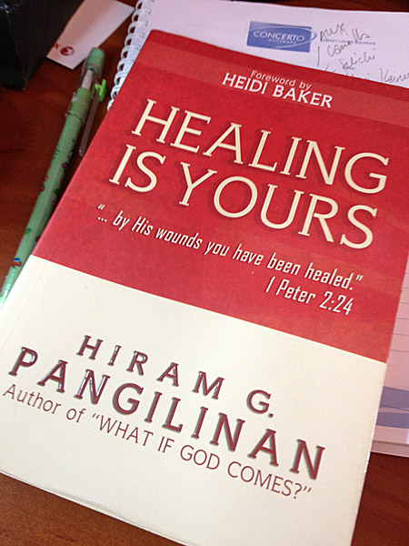 BOOK REVIEW: Healing is Yours